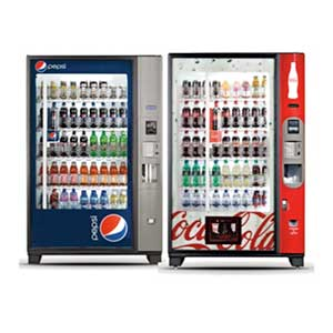 Glass Front Vending Machines