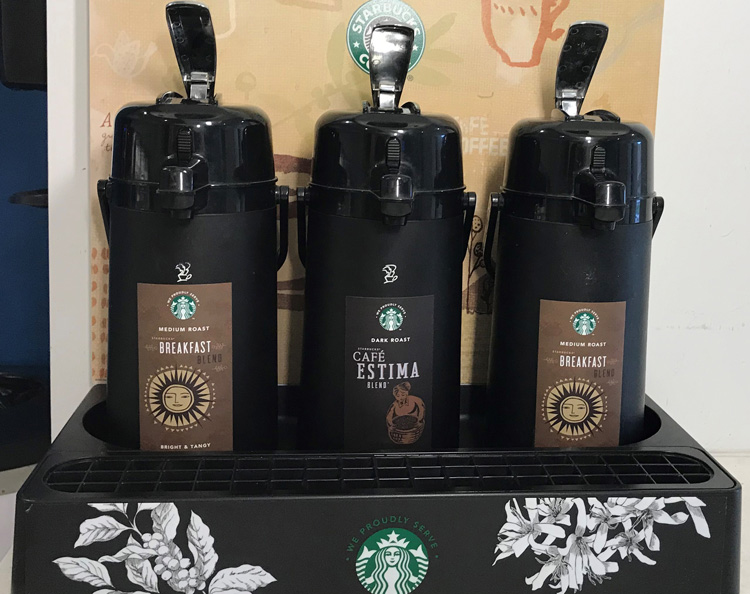 Starbucks Station